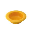 Dignity Bowl Wide Rim Yellow 19.5cm Ceramic