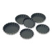 Exopan Fluted Tartlet 8 x1.2cm Non-Stick Set 25