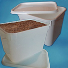 4 litre Ice Cream Container Natural