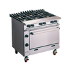 Falcon Chieftain G1066X Gas Range 6 Burner w.Castors