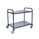 Trolley With Aluminium Trays 2 Tier