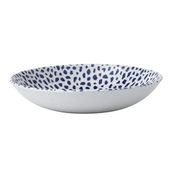 Terrazzo Blue Coupe Bowl 9.75in