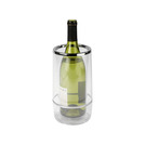 Wine Cooler Double Walled Clear 12cm Acrylic