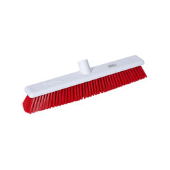Abbey Hygiene Broom Head Stiff 45cm Red