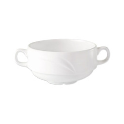 Alvo Handled Soup Cup White 28.5cl