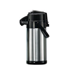 Compact Lever Type Brushed Elia Airpot 2.5 Litre