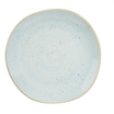Stonecast Duck Egg Organic Round Plate