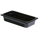 Gastronorm Container Poly 1/4 100mm Black
