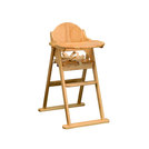 East Coast Wooden Folding High Chair Wood