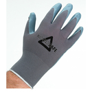 Keep Safe Nitrile Palm Coated Knitwrist Grey Glove