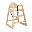 EU Compliant Natural High Chair Assembled