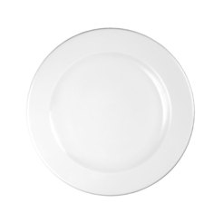 Profile Footed Plate White 30.5cm