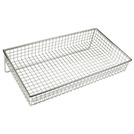 Display Basket Chrome Oblong 36 x 20 x 5cm