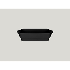 Chef's Fusion Rectangular Tureen Black 20x10cm