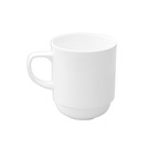 Alchemy White Mug Stackable 27.5cl