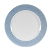 Isla Ocean Blue Footed Plate 27.6cm