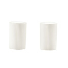 Ginseng Salt & Pepper Set White