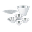 Bowl 1.6ltr Conical Stainless Steel 33cm