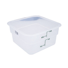 Square Container Measurement Graduation 1.9ltr