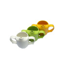 Dignity 2 Handled Feeder Cup Green Ceramic 25cl