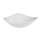 Lotus Bowl Triangular White 37cl