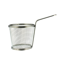 Mini Round Basket Stainless Steel