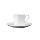Connaught Saucer For B9433 White 12cm