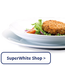 SuperWHITE Crockery