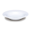 Kingline Plain White Bowl Stone Rim 19.5cm