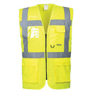 Portwest S476 Yellow Hi-Vis Executive Waistcoat