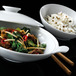 Menu Bowl With Lid White 19.2cm