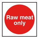 Raw Meat Only Catering Vinyl Sticker