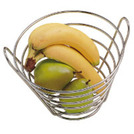 Fruit Basket Metal Round 22cm