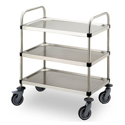 S/S Serving Trolley 3 Tier 880 x 560 x 960mm