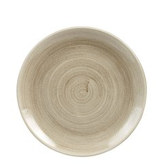 Patina Antique Taupe Coupe Plate 10.25 inch