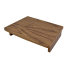 Walnut Veneer Nested TableRiser 45.6x35.5x9.5cm