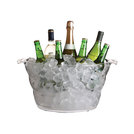 Acrylic Large Oval Drinks Cooler 47 x 28 x 23cm