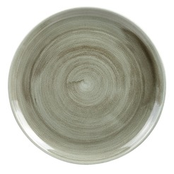 Stonecast Patina Green 11 Inch Coupe Plate