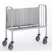 Plates Trolley with Removable Front Grill