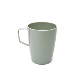 Grey Green 280ml Beaker With Handle