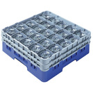 Camrack Glass Rack 25 Compartments Navy Blue