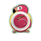 Flamingo Melamine Junior Bowl 145x113x35mm 150ml
