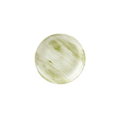 Textured Prints Green Wood Coupe Plate 16.5cm