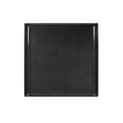 Buffet Tray Square Melamine Black 30.3cm