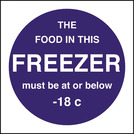Kitchen Food Safety Food Temperature - Freezer
