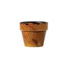 Harvest Tall Pot 4 1/8 inch 10.6cm Brown