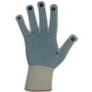 Keep Safe Knitted Nylon Glove with Dotted Palm