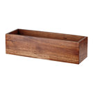 Buffet Wood Rectangular Riser Large 56x18x20cm