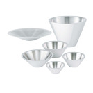 Bowl 1.3ltr Conical Stainless Steel 20cm