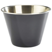 12oz Stainless Steel Ramekin Black